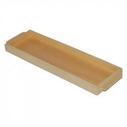 Plateau pour 45 carrés de 100 en bois Montessori