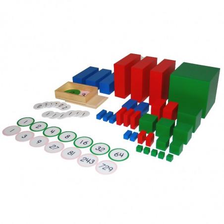 Materiel hiérarchique multibase base 2 et 3
