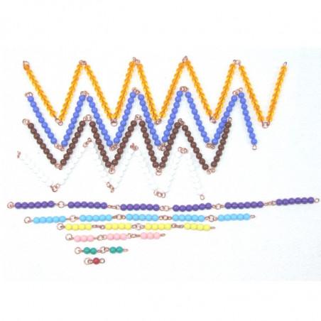 Petites chaînes de perles