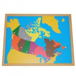 Puzzle du Canada PREMIUM