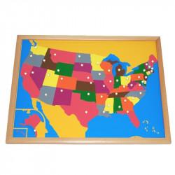 Puzzle des Etats-Unis PREMIUM