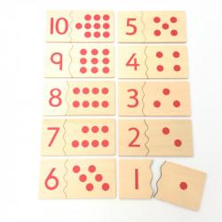 Puzzles nombres 1 à 10