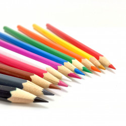 11 crayons