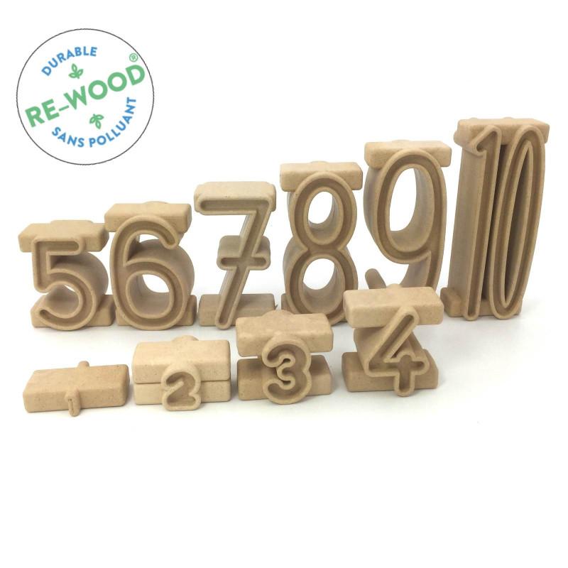 Tour de nombres en RE-Wood®