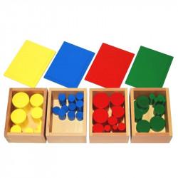 Pieces detachees cylindres de couleur
