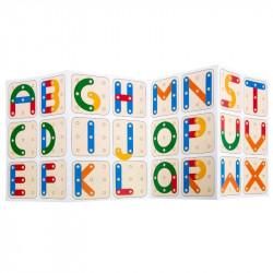 Puzzle à encastrer Lettres et Nombres