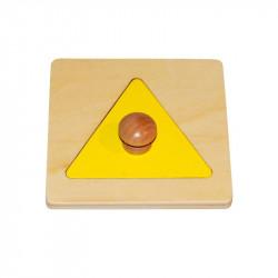Encastrement  triangle
