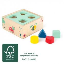 Cube à formes Move-it