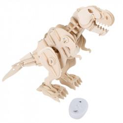 Kit en bois Dino-robot T-Rex avec télécommande