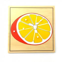 Puzzle de l'orange