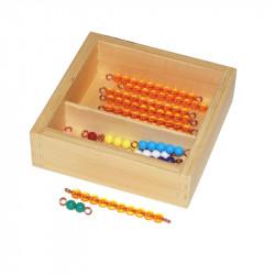 Perles pour table de Seguin 1 Montessori