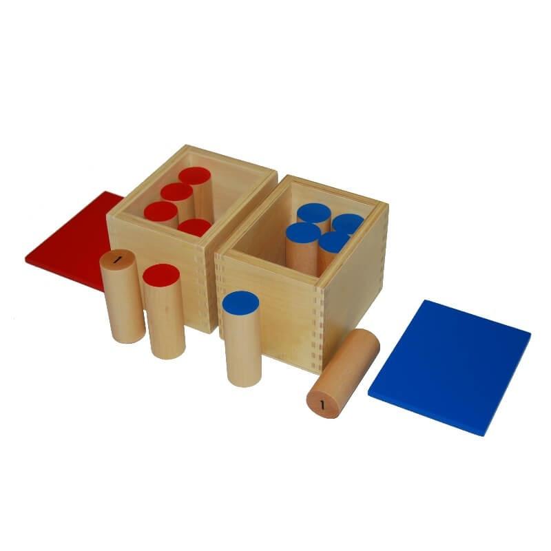 Boites à sons Montessori