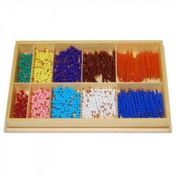Perles pour les décimaux Montessori