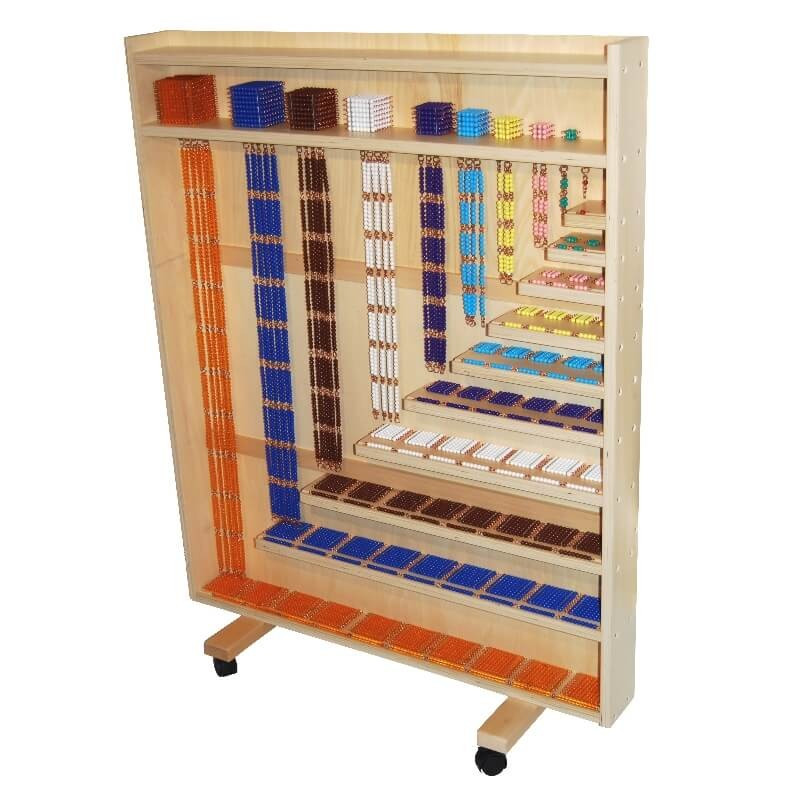 Cabinet de perles Montessori